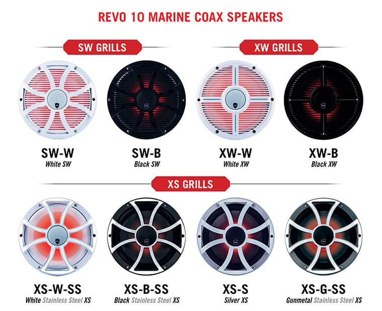 REVO10-CX Grilles