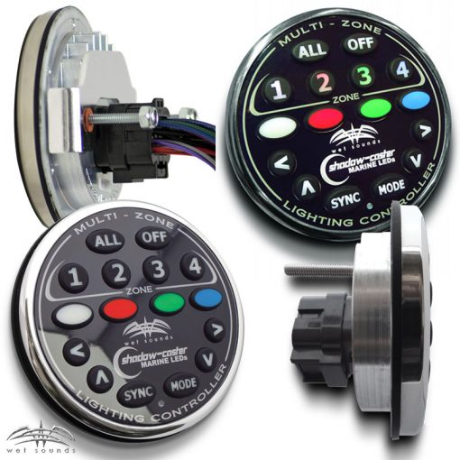 WS-4Z RGB Controller - All Views